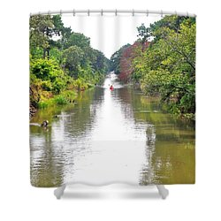 Assawoman Canal - Delaware Shower Curtain