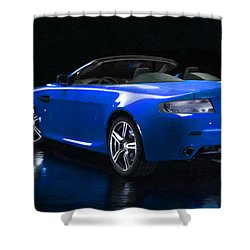 Aston Martin 9 Shower Curtain