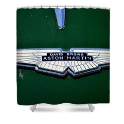 Aston Martin Badge Shower Curtain