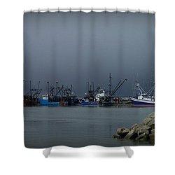 Astoria Safe Harbor Shower Curtain