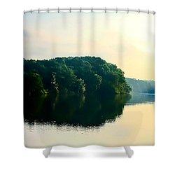 At Dawn  Shower Curtain by Debra Forand