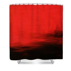 At Dusk Shower Curtain by Kume Bryant
