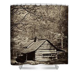 At Home In The Appalachian Mountains Shower Curtain by Paul W Faust -  Impressions of Light