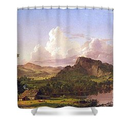 At Home On The Lake By Frederick Edwin Church Shower Curtain