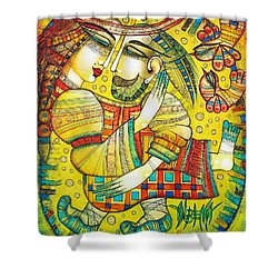 At Last I Found You Shower Curtain