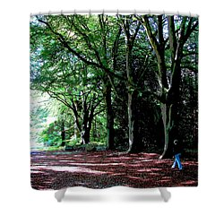 Shower Curtain featuring the photograph At Peace With Nature by Charlie Brock