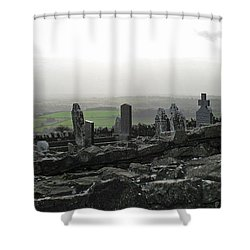 At Rest At Last Shower Curtain by Kathleen Scanlan