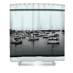 At The Bay  Shower Curtain