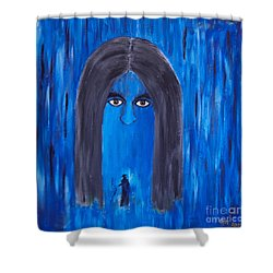 At The Crossroads Shower Curtain