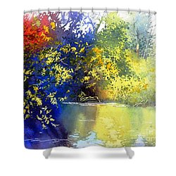 At The Marsh Shower Curtain