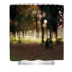At The Yarkon Park Tel Aviv Shower Curtain