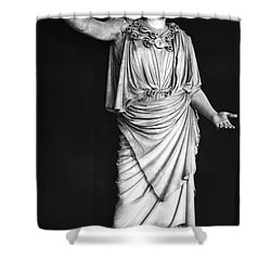 Athena Or Minerva Shower Curtain by Granger