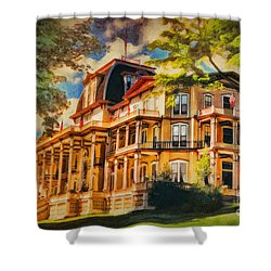 Athenaeum Hotel - Chautauqua Institute Shower Curtain
