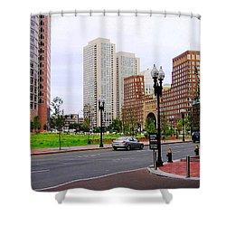 Atlantic Avenue Shower Curtain