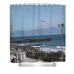 Atlantic City 2009 Shower Curtain