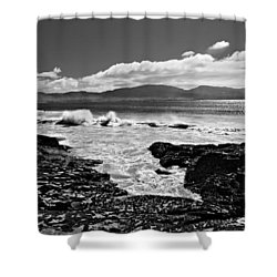Shower Curtain featuring the photograph Atlantic Coast / Donegal by Barry O Carroll