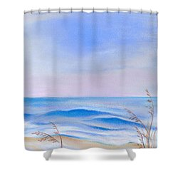 Atlantic Evening Shower Curtain