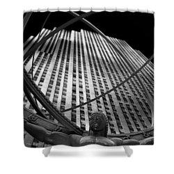 Atlas Rockefeller Center Shower Curtain