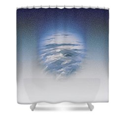 Shower Curtain featuring the photograph Atmospheric Presence by Kellice Swaggerty