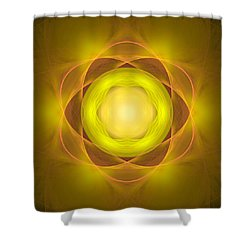 Atome-35 Shower Curtain by RochVanh
