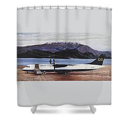 Atr 72 - Arctic Bay Shower Curtain