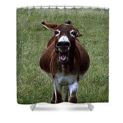 Shower Curtain featuring the photograph Attack by Peter Piatt