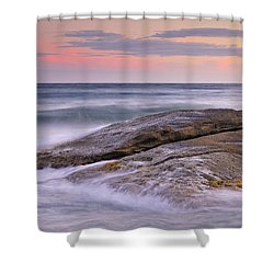 Attack The Waves Shower Curtain by Guido Montanes Castillo