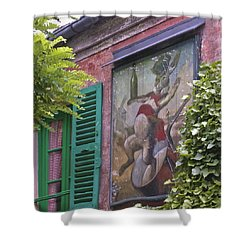 Au Lapin Agile Shower Curtain