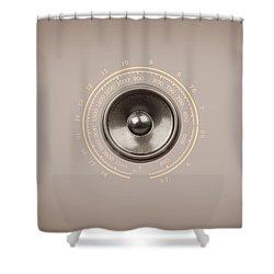 Audio Retro 6 Shower Curtain