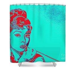 Audrey Hepburn 20130330v2p128 Shower Curtain