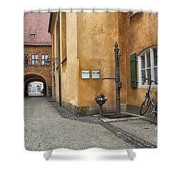 Shower Curtain featuring the photograph Augsburg Germany by Paul Fearn