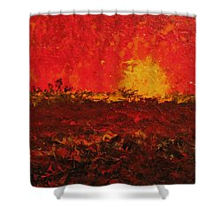 August Fields Shower Curtain