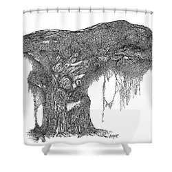 August '12 Shower Curtain