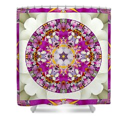 Aura Of Joy Shower Curtain by Bell And Todd