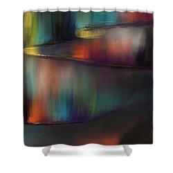 Aurore Shower Curtain by Francoise Dugourd-Caput
