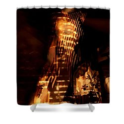 Shower Curtain featuring the photograph Aurous by Jessica Shelton