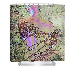 Austin A. 6-1 Shower Curtain