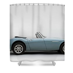 Austin Healey 3000 Mkiii Shower Curtain by Douglas Pittman