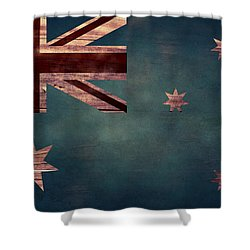Australian Flag I Shower Curtain