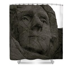 Author Of Our Freedom Shower Curtain