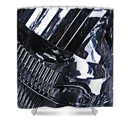 Auto Headlight 10 Shower Curtain by Sarah Loft