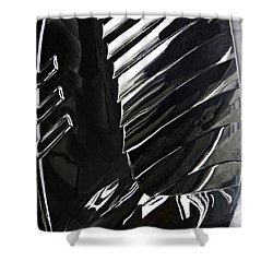 Auto Headlight 69 Shower Curtain by Sarah Loft
