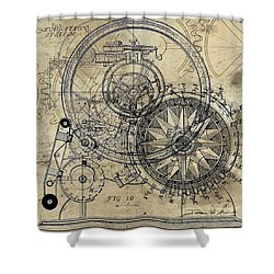 Autowheel II Shower Curtain