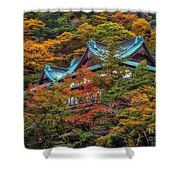 Autum In Japan Shower Curtain