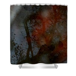 Shower Curtain featuring the photograph Autumn Abstract by Photographic Arts And Design Studio