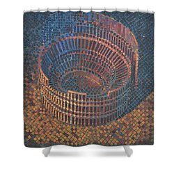 Autumn Amphitheatre Shower Curtain by Mark Jones