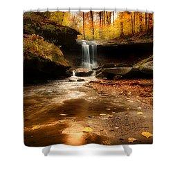 Autumn At Blue Hen Falls Shower Curtain
