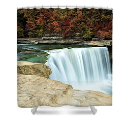 Autumn At Cumberland Falls Shower Curtain