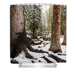 Autumn At Gore Creek 5 - Vail Colorado Shower Curtain by Brian Harig