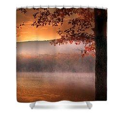 Autumn Atmosphere Shower Curtain by Lori Deiter